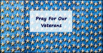 Pray For Our Veterans by Genevieve Gerard